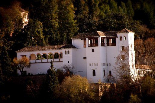 Palace, Spain, Granada, Fortress, Europe, Castle