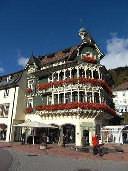 Black Forest, St Blasien, Building, Historically