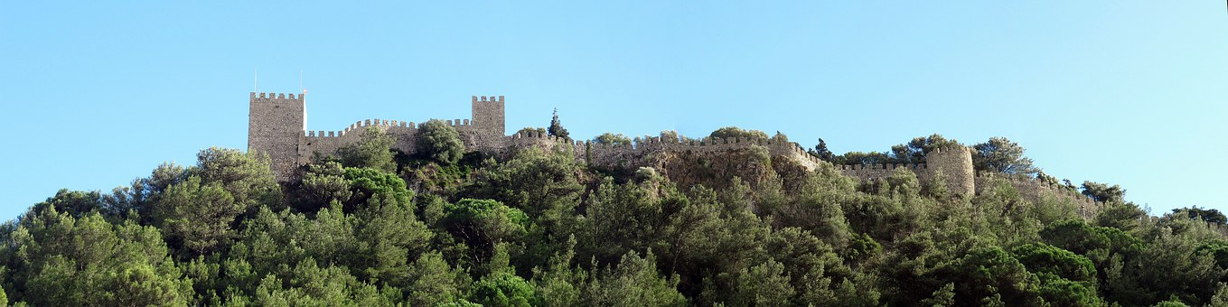 Sesimbra, Portugal, Castle, Historically, Tourism