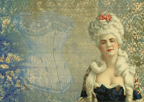 Vintage, Revolution, Josephine, French, Queen, Lady