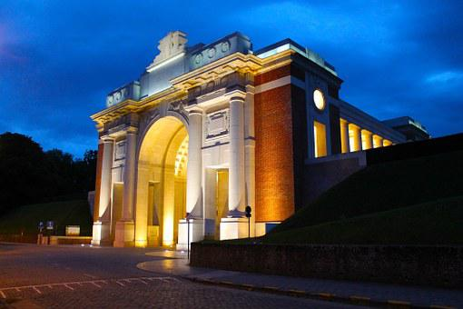 Belgium, World War 1 Monument, History, Building