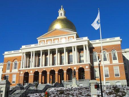 Boston, Massachusetts, State House, Building