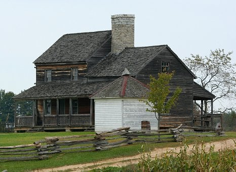 Farmhouse, 1850, Buildings, Museum, Historic