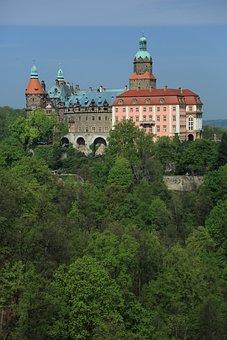 Castle Książ, Castle, Poland, Monument