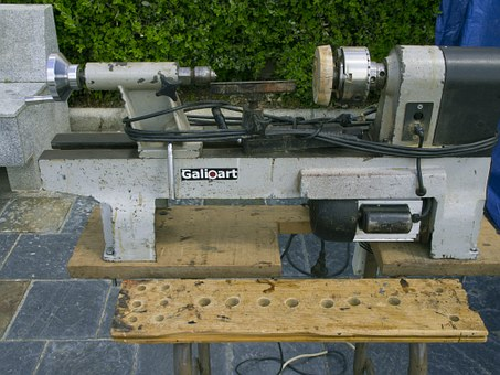 Old Lathe, Exhibition, Crafts