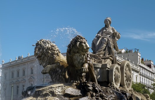 Source, Cybele Monument, Madrid