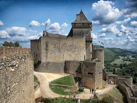 Dordogne, France, Chateau De Castelnaud, Castle