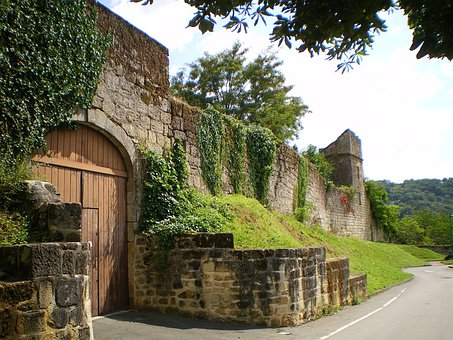 Figeac, France, Castle, Fortress, Old, Historical