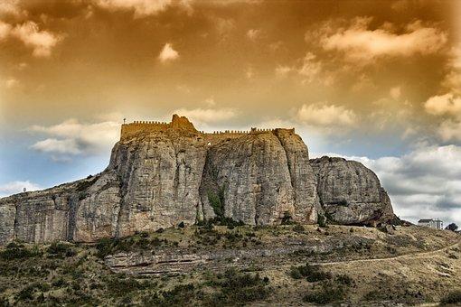 Castillo De Clavijo, Spain, Castle, Fortress, Historic