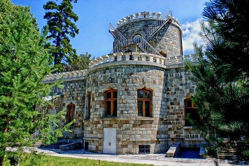 Iulia Hasdeu Castle, Romania, Fortress, Architecture