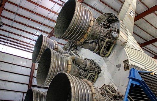 Rocket, Houston, Thrusters, Texas, Nasa, Usa
