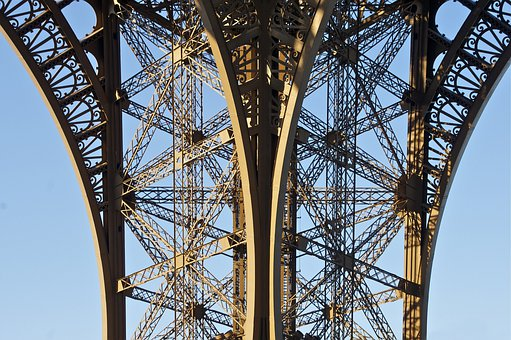 Eifell Tower, Paris, France, Landmark, Famous