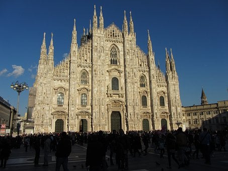 Cathedral, Duomo, Milan, Italy, Dome, Monument