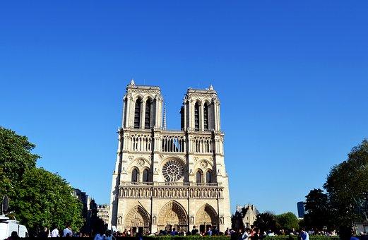 Cathedral, Notre-dam, France, Paris, Monument
