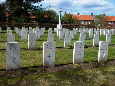 Milsbeek, Netherlands, War Cemetery, Headstones, Graves