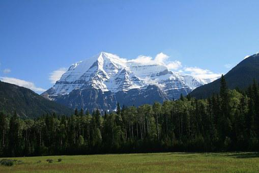Canada, Mount Robson, Rocky Mountains, British Columbia