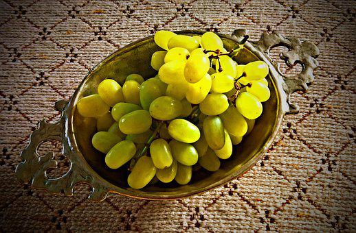 Grapes, Grape, Fruit, Green Grapes, Seedless
