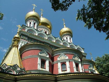 Shipka, Monastery, Historic, Building, Orthodox