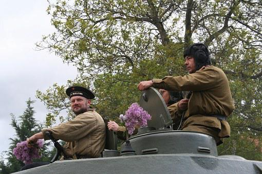 Tanks, Soldiers, Military Parade