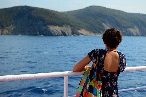 Girl, Thoughts, Dreams, Back, Want, Sea, Elba Island