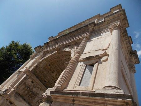 Arch, Titus, Rome, Italy, Roman, Ancient, History