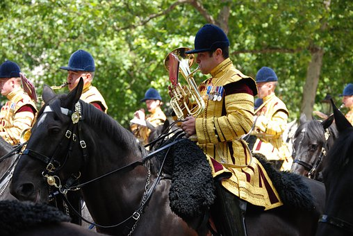 Bandsman, Musician, Horse, Drummer, Pageantry