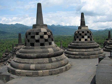 Stupa, Borobudur, Barabudur, Mahayana, Buddhist Temple