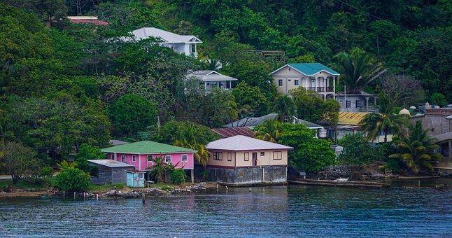Roatan, Honduras, Landscape, Seascape, Caribbean