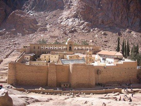 Catherine's Monastery, Egypt, Sinai Desert