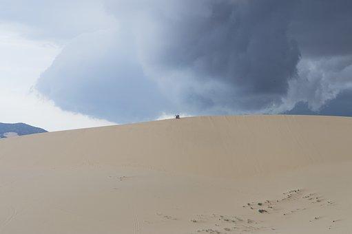 Desert, Storm, Ppt Backgrounds