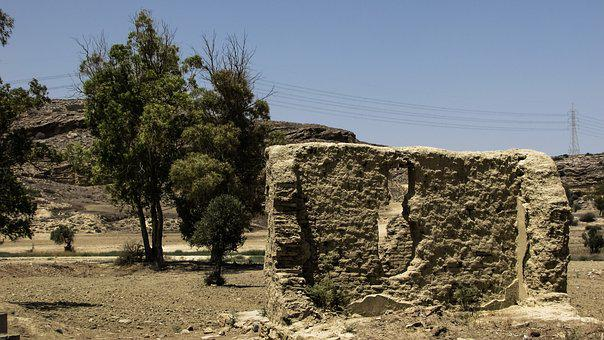 Cyprus, Ayios Sozomenos, Village, Abandoned, Deserted