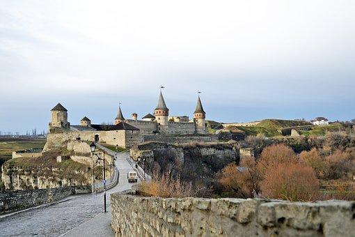 Kamyanets-podolsky, Castle, Ukraine, Tourism, Fortress