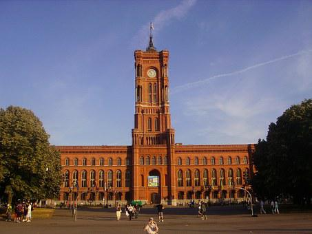 Rotes Rathaus, Berlin, City Hall, Germany, Building
