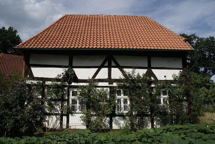 Edemissen, Historically, Home, Truss, Historic Home
