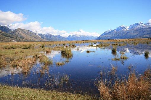 Aoraki, Mt Cook, Mountain, Landscape, Wilderness