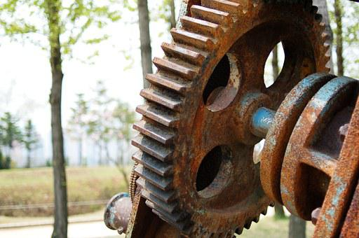 Seonyudo, Machine, Gear, Rust