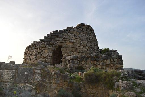 Nuraghe, Sardinia, Seui, Serbissi