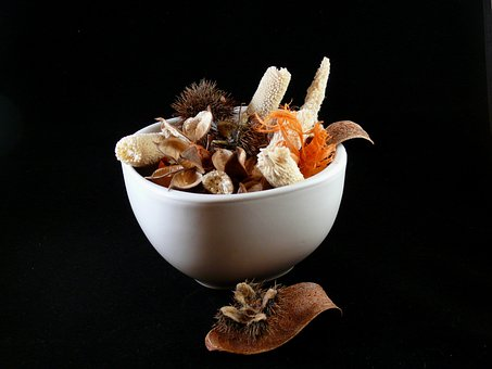 Potpourri, Decoration, Ceramic, Bowl, Petal, Dried
