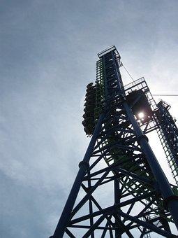Silverwood, Roller Coaster, Excitement, Amusement Park
