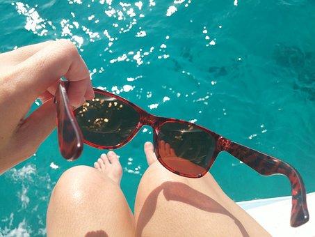 Blue Sea, Chill, Relax, Ocean, Summer, Vacation