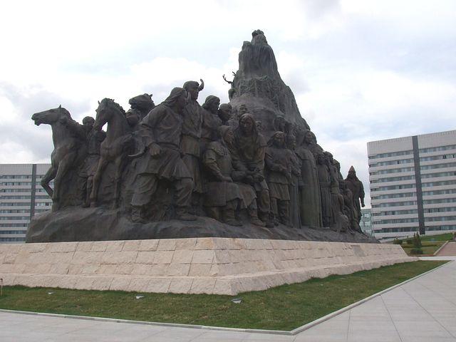 Ordos, City, Sculpture