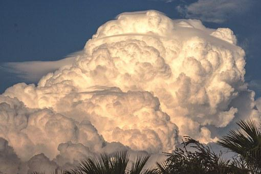 Cumulonimbus, Nimbus Cloud, Storm Clouds, Weather