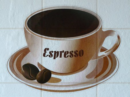 Coffee Cup, Coffee, Drawing, Image, Drink, Cup, Pattern