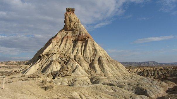 Bardenas, Navarre, Desert, Erosion