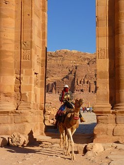 Petra, Jordan, Holiday, Travel, Middle East, Ruin