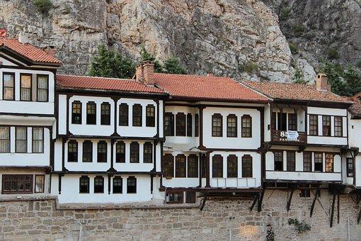 Turkey, Amasya, Home, Hictoric, Architecture, Kennedy
