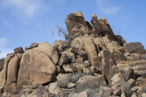 Rocks, Stones, Landscape, Arizona, Mohave County