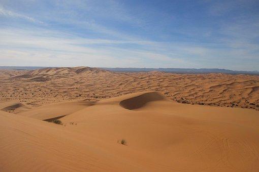 Erg Chebbi, Desert, Morocco, Silence
