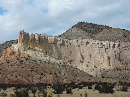 Rugged, Desert, Nature, Landscape, Scenic, Rock