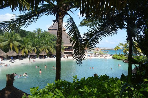 Xcaret, Mexico, Mar, Tourism, Trees, Water, Holidays